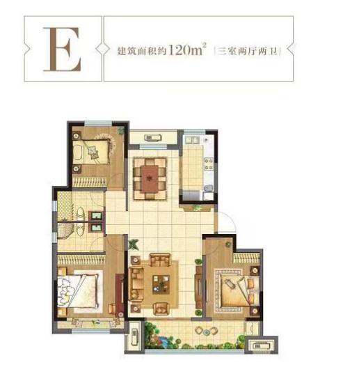 济南新鸥鹏教育城户型图5