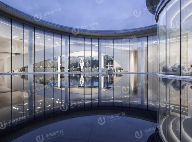 济南先行区济阳绿地国际博览城售楼处实景图