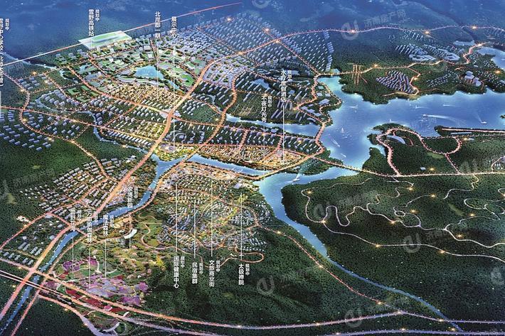 莱芜绿地雪莱小镇位置区域图