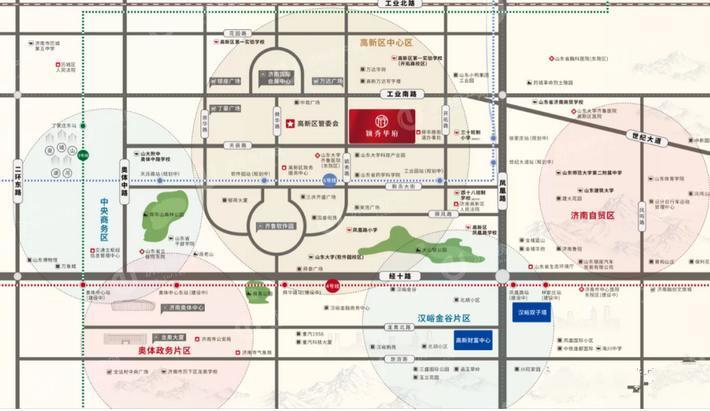 颖秀华府位置区域图