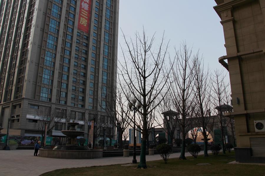 工业北路恒大城小区环境内景